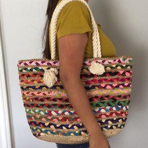 Handbags - Colorful purse shoulder tote